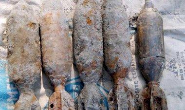কুমিল্লায় ৫টি অবিস্ফোরিত মর্টার শেল উদ্ধার