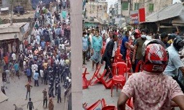 নোয়াখালীতে গোলাগুলির ঘটনায় ওসিসহ আহত ২০, পুলিশের মামলা