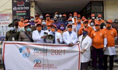 সিএমএল রোগীরা সুচিকিৎসায় সুস্থ জীবন-যাপন করতে পারে : বিএসএমএমইউ ভিসি
